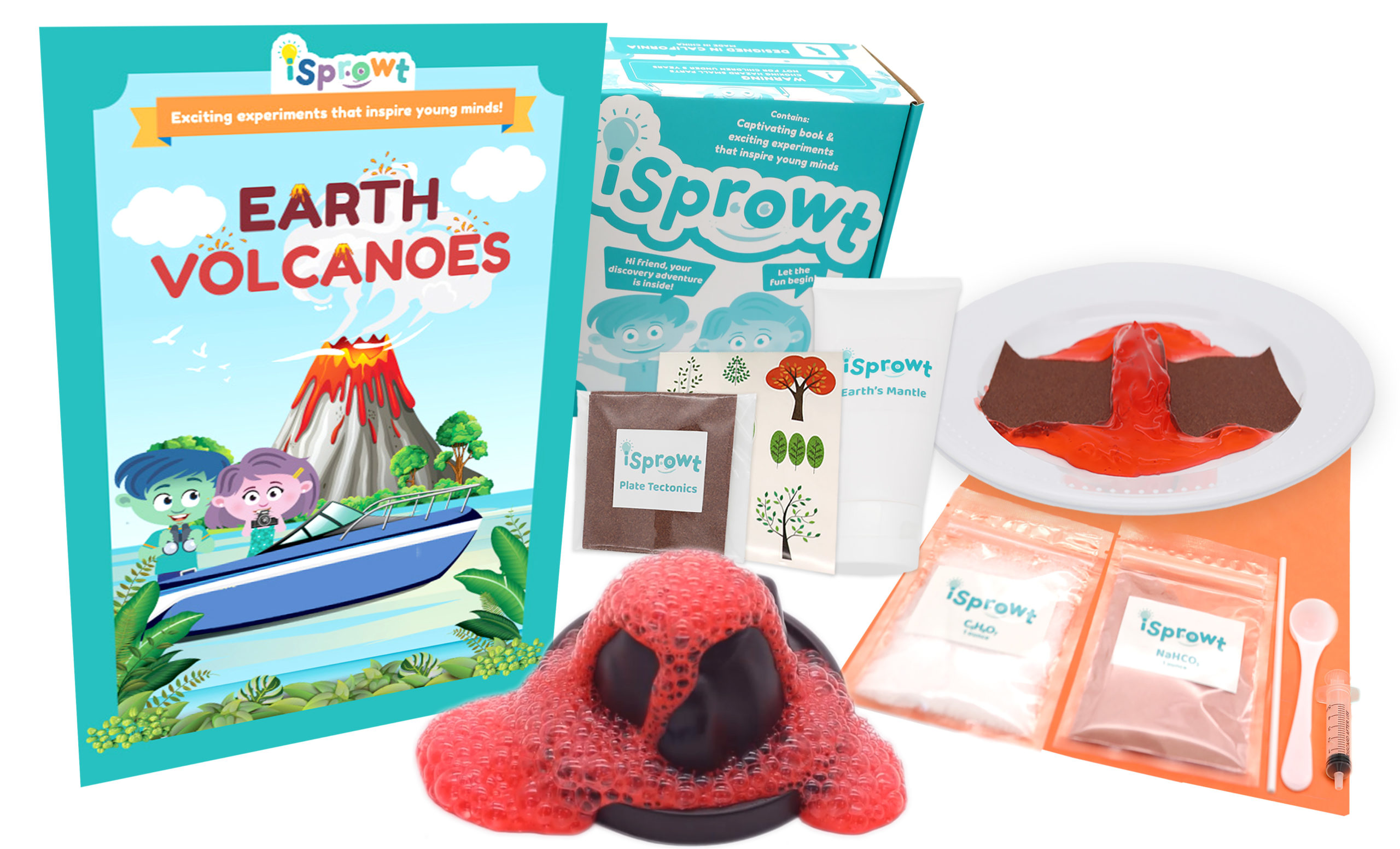 volcano stem projects for kids